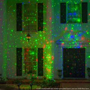 green red x1000 laser light projector yard envy