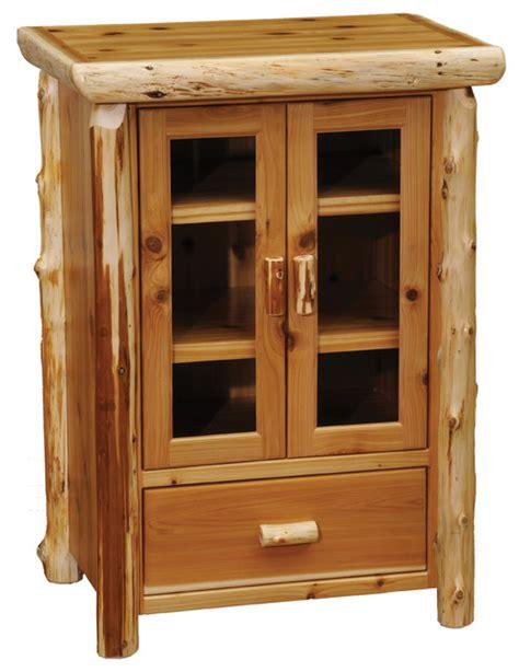 rustic dvd storage cabinet cedar media cabinet rustic media cabinets by
