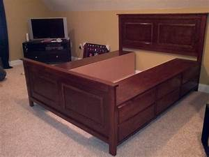 diy platform storage bed queen Quick Woodworking Projects