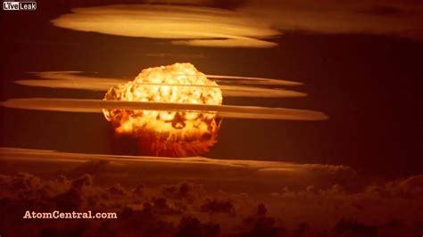 explosion nucleaire en haute definition youtube
