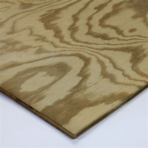 pine plywood lowes shop pine sanded plywood common 1 2 in actual 0 453 in x 23 75 in x 47 75 in at lowes com