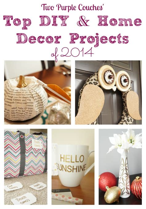 Top Diy Projects 2014  Two Purple Couches
