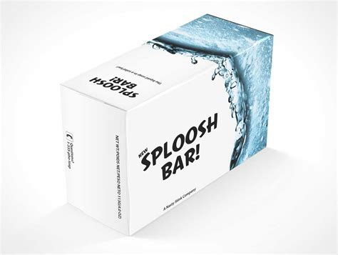 Make your soap packaging designs look fantabulous by using this free soap bar mockup. Soapbox - PSD Mockups