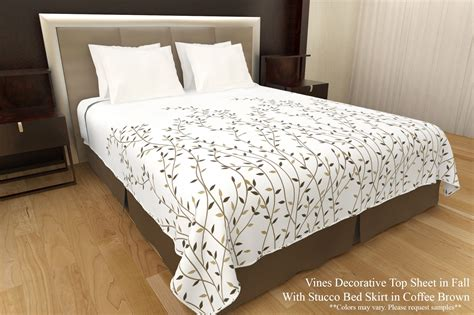 vines top covers sheets decorative top sheets