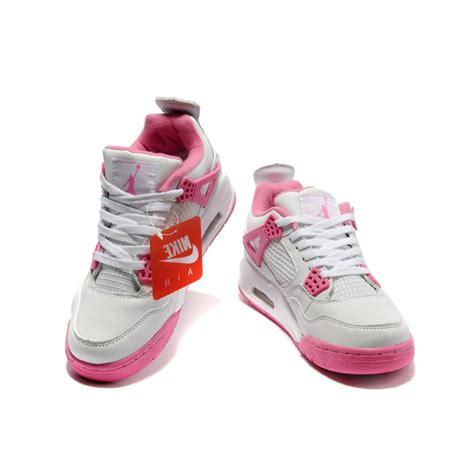 Women Air Jordan 4 Retro White Pink Price 6840