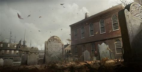 Concept Art For Assassins Creed 3 Created By William Wu