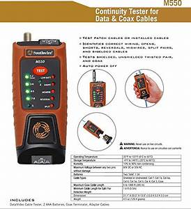 Southwire Tools  U0026 Equipment M550 Continuity Tester For