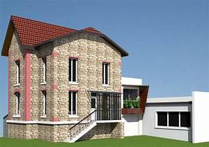 Extension Maison Ancienne : agrandissement maison ancienne ed ~ Louise-bijoux.com Idées de Décoration