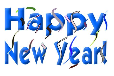 New Years Clipart Border