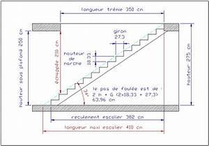 Principe de calcul d un escalier www AlexandreWack fr