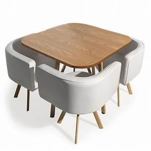 Table Avec Chaise Encastrable Achat Vente Table Avec