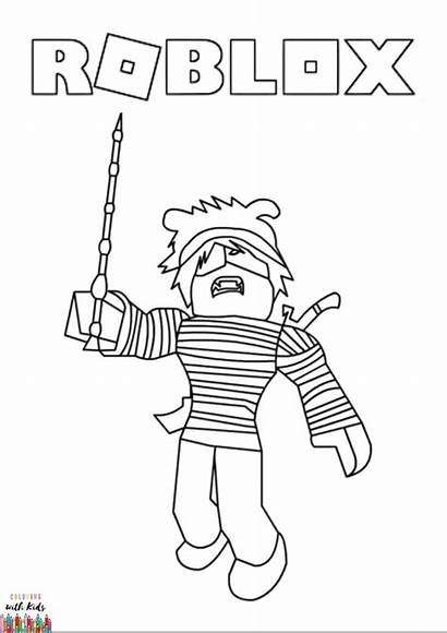 Roblox Coloring Pages Avatar Drawing Sheets Boys