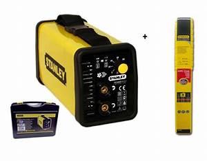 Poste A Souder Stanley : stanley 460100 460925 soudure l 39 arc mma outillage ~ Dailycaller-alerts.com Idées de Décoration