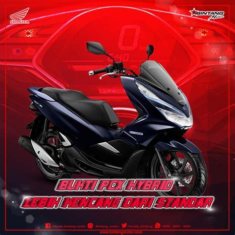 Pcx 2018 Cirebon by Honda Pcx Standar Tak Sekencang Pcx Hybrid Honda Bintang