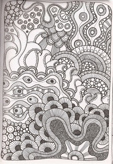 printable zentangle coloring pages  adults