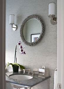 Bathrooms grasscloth wallpaper design ideas for Grasscloth wallpaper in bathroom