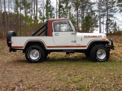 jeep scrambler 4 door 1982 jeep scrambler sl sport utility 2 door 4 2l for sale