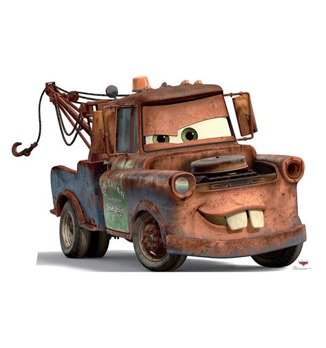 Cars 2 Mater Image by Mater Tow Truck Disney Cars Standup Standee Cardboard