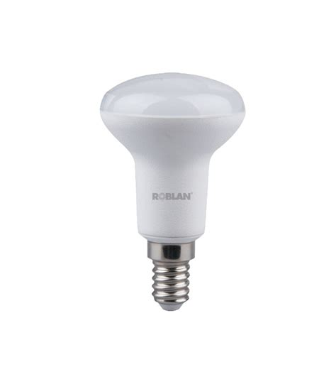 light bulb led r50 6w e14 connection roblan