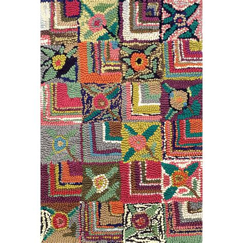Gypsy Rose Cotton Hooked Rug Dash Albert