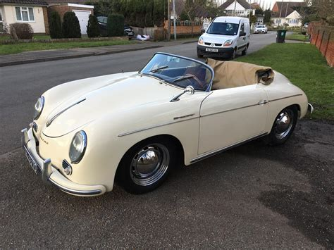 Replica Porche 356 by 1957 Porsche 356 Speedster Replica For Sale Classic Cars