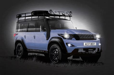 2019 Land Rover Defender Price, Spy Shots, News, Release