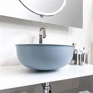 Vasque Originale : vasque poser en laiton 39 cm open cielo ~ Dode.kayakingforconservation.com Idées de Décoration