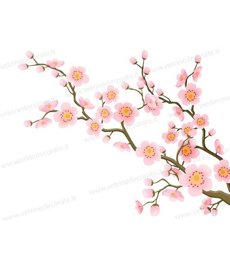 rami di fiori rami fioriti con boccioli e fiori rosa