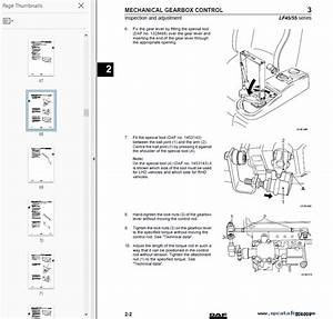 Daf Lf 45  55 Set Of Components Manual Pdf