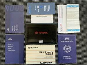 2003 2004 Toyota Camry Owner Manuals Operator Books User