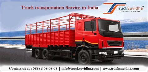 Transportation Service by Truck Transportation Services In India Trucksuvidha