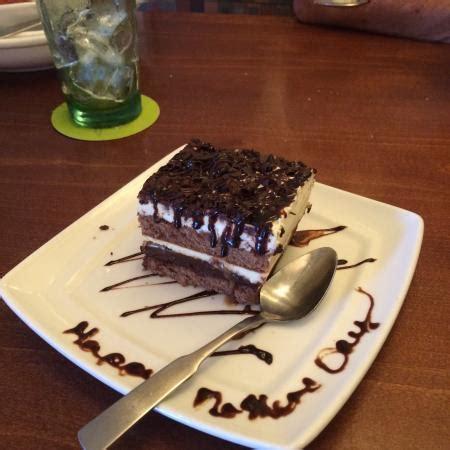 When available, we provide pictures, dish ratings, and descriptions of each menu item and its price. New dessert. Chocolate Carmel lasagna. Excellent. - Picture of Olive Garden, Merritt Island ...
