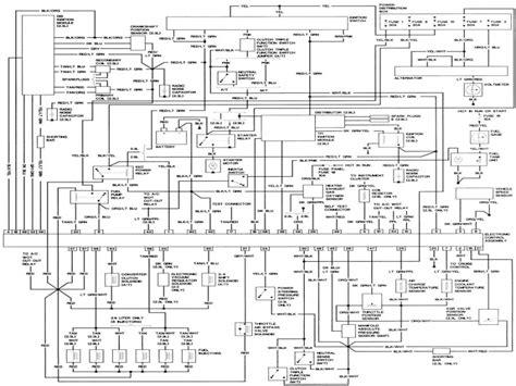 1989 Bronco 2 Wiring Diagram by 1989 Ford Bronco Ii Wiring Diagram Wiring Forums