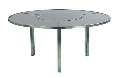 table ronde exterieur design table de lit