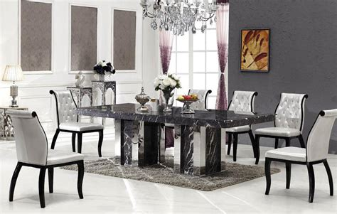bologna marble dining table with 8 chairs marble king