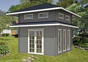 Gartenhaus 2 50x2 50 : ein gartenhaus mit schlafboden mehr platz zum bernachten ~ Whattoseeinmadrid.com Haus und Dekorationen