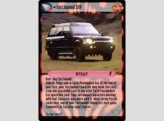 Unauthorized Dr Who CCG Artifact Torchwood SUV