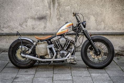 My '74 Shovel Head Harley Davidson Chopper Bobber