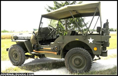 Restauration 4x4 Jeep Willys Magazine 4x4 Suv