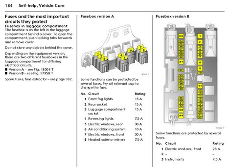 Wiring Diagram For Vauxhall Combo by Opel Combo Fuse Box Layout Wiring Diagram
