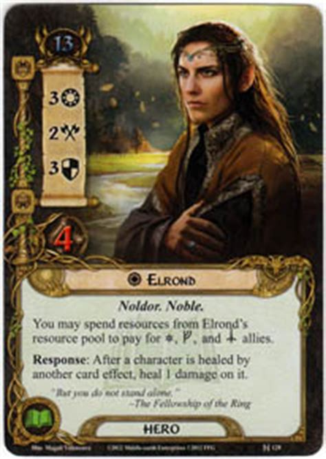 lotr lcg deck lists elrond shadow and lord of the rings lcg lord
