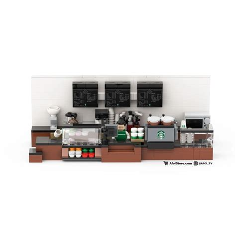 Our selection of brands is always growing, so chances are your favorite is on aliexpress. LEGO Coffee Shop Interior Buildout Instructions (Starbucks) - AFOL TV in 2020   Coffee shops ...