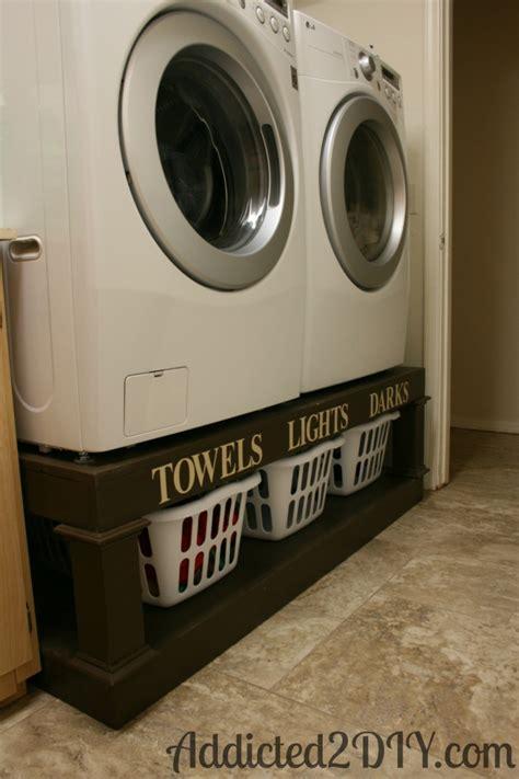 diy laundry pedestal diy laundry pedestal addicted 2 diy