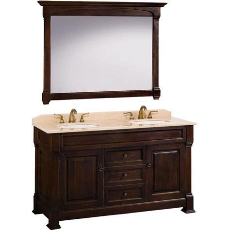 60 quot andover sink vanity cherry bathgems com