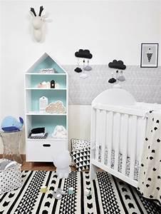 Chambre De Bébé : d co chambre b b en noir et blanc blog deco clem atc ~ Teatrodelosmanantiales.com Idées de Décoration