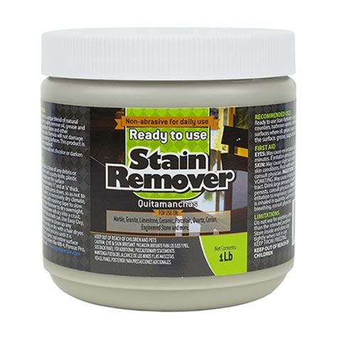marble granite stain remover ready to use poultice