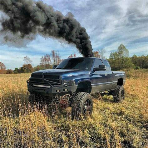 2nd Cummins Truck Wallpaper by Rolling Coal In A Badass Lifted 2nd Dodge Ram Cummins