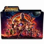 Avengers Icon Folder War Infinity Deviantart Deviant