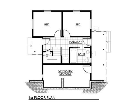 square floor plans cottage style house plan 2 beds 1 baths 1000 sq ft plan