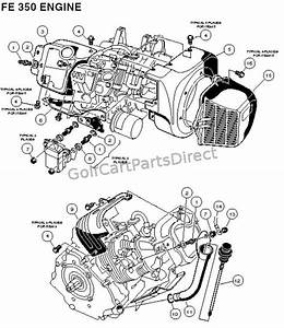 Fe 350 Engine - Carryall 2 Plus And 6  U2013 Part 1
